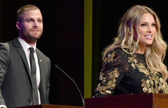 Stephen Amell & Yael Braun Honored for Their Work with F Cancer at Heroes Gala!