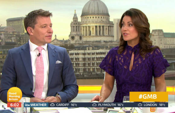 Ben Shephard reveals he presented Good Morning Britain in painkillers haze