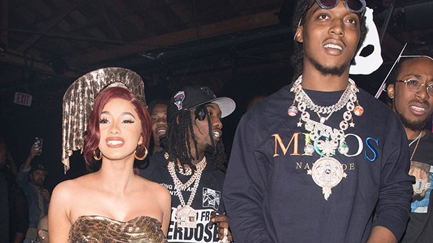Cardi B Risks Serious Wardrobe Malfunction By Not Wearing Underwear In Skimpy Bday Outfit