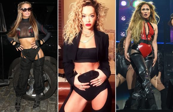 Stars like Beyoncé and Nicki Minaj are baring it all in chaps