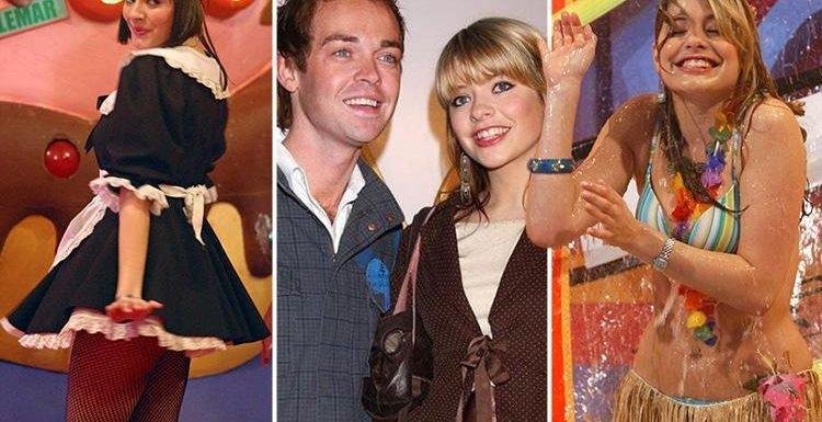Holly Willoughby and Stephen Mulhern look baby-faced as ITV posts incredible throwback pic from Ministry Of Mayhem