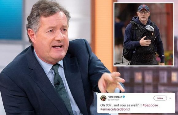 What is a papoose, what has Piers Morgan said about them and what celebs have worn them?