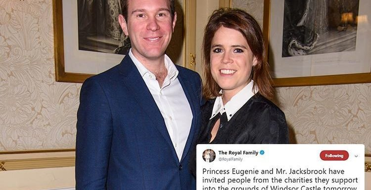 Can YOU spot the epic error the Royal Family made in this tweet about Princess Eugenie and Jack Brooksbank's wedding?