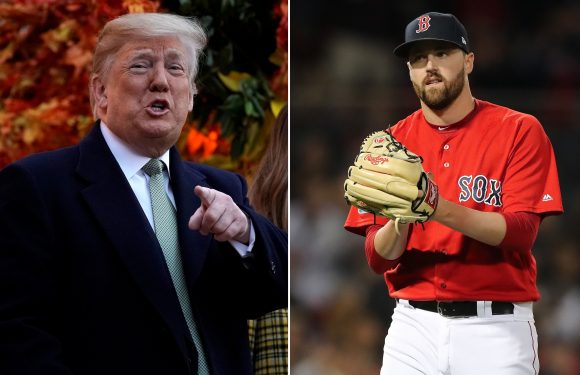 'I f–k with Trump!' Red Sox pitcher thrilled for White House visit