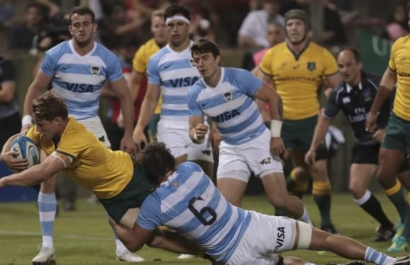Wallabies rally from brink of humiliation to sneak home against Pumas
