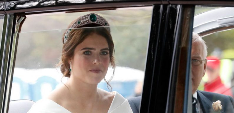 Princess Eugenie Wore The Perfect Bold Brows For The Royal Wedding