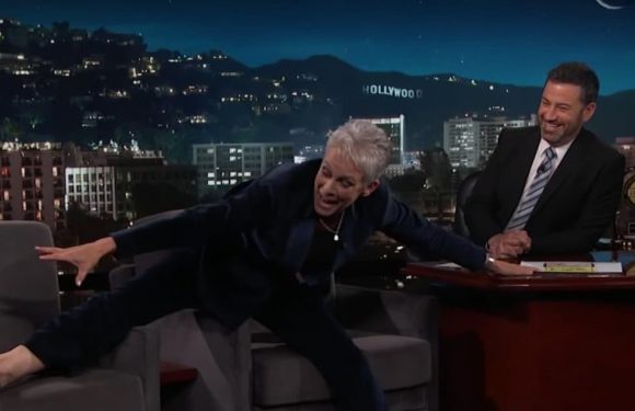 Jamie Lee Curtis Tells Jimmy Kimmel She Hates 'Hostile' Late-Night TV and Her Son Does Not Like Him