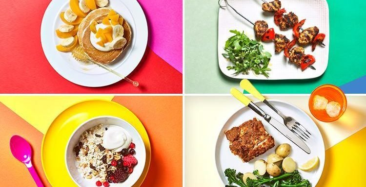 Here's our no-fuss eating plan for party season which could help you lose a STONE in six weeks