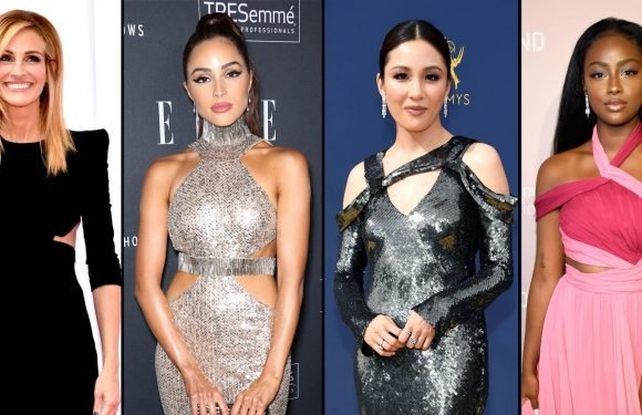 The Sexy Red Carpet Trend Celebs Can't Stop Wearing