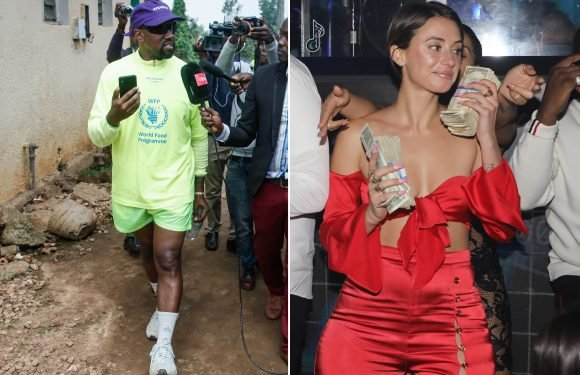 Snapchat star YesJulz helped organize Kanye West's trip to Uganda
