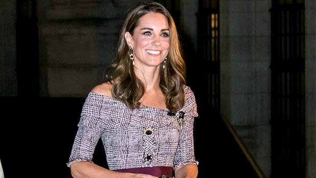 Kate Middleton Takes A Page Out Of Meghan Markle's Style Book With Off-The-Shoulder Dress