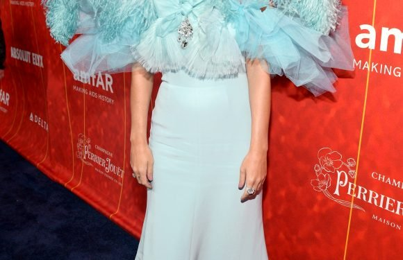 Katy Perry Goes Over-the-Top Glam in Feathers for Gala Date Night with Orlando Bloom