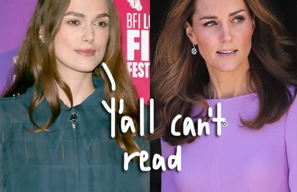 Keira Knightley Says She Didn't Shame Kate Middleton In Childbirth Essay