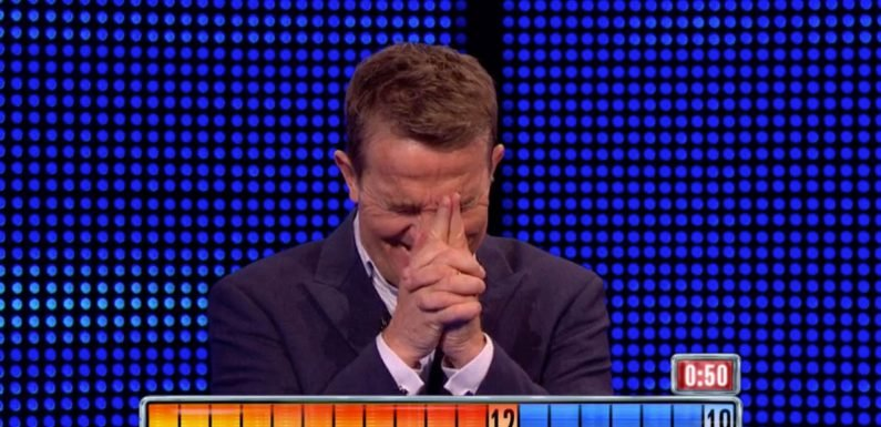 The Chase fans spot intentionally cheeky answer from one contestant that tickles Bradley Walsh