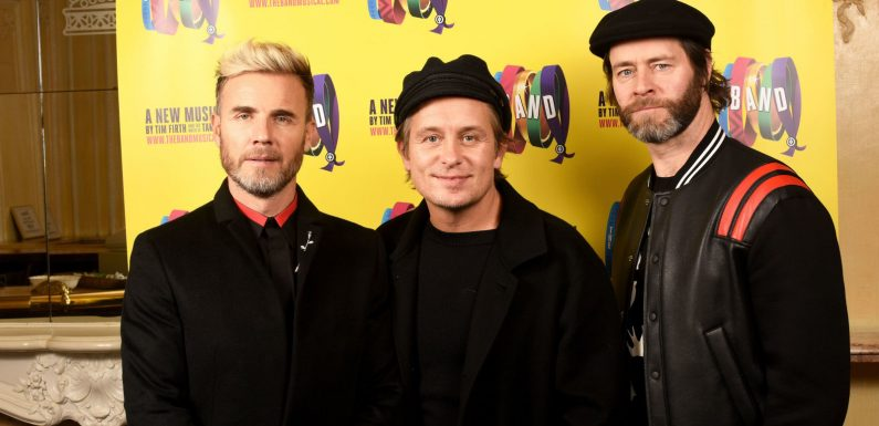 Listen to a brand new song from Take That as they unveil what songs will be on new greatest hits album