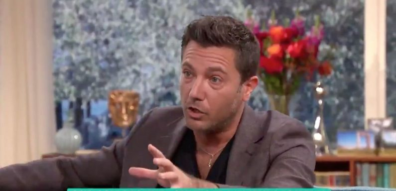 Gino D'Acampo says Gordon Ramsay used his willy to wake him up while filming new show