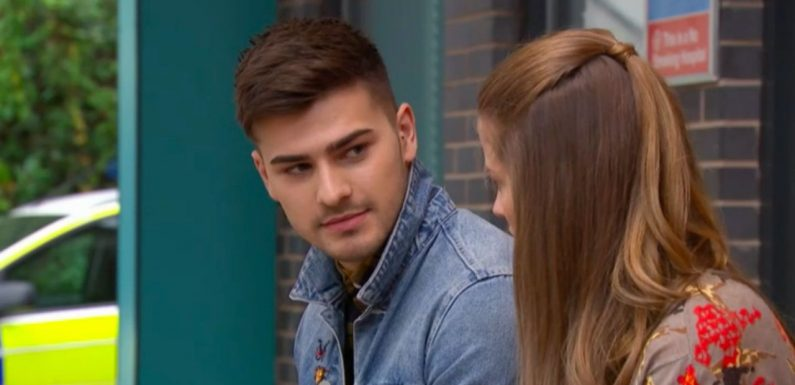 Hollyoaks' Romeo Quinn finally tells Lily McQueen that James Nightingale is his dad