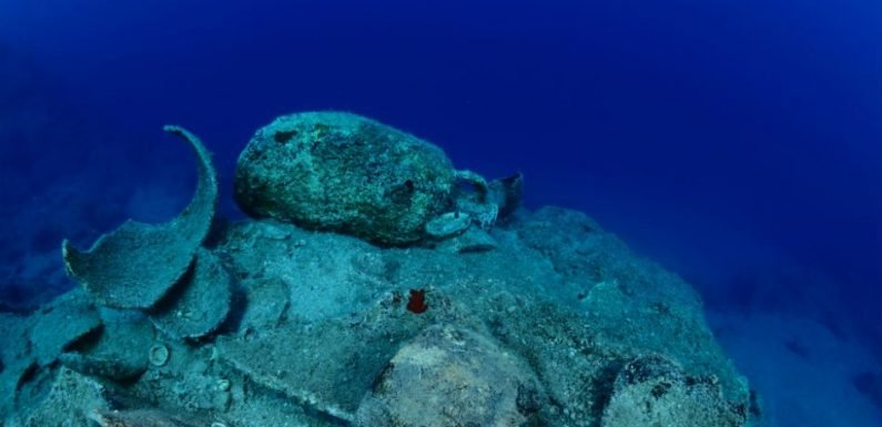 Archaeologists Have Discovered 58 Ancient Shipwrecks Concentrated In One Area Of The Aegean Sea