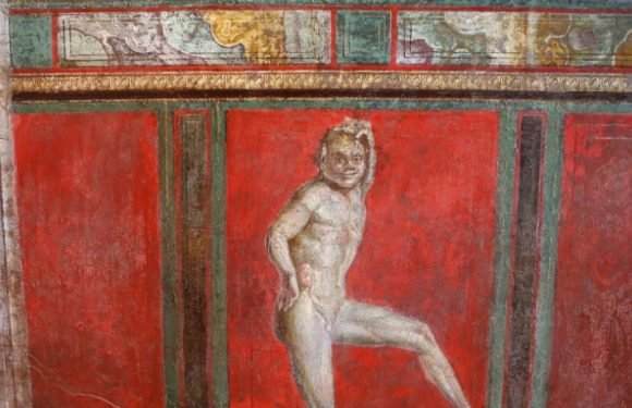 Extraordinary Frescoes Depicting An Enchanted Garden Have Been Excavated In Pompeii