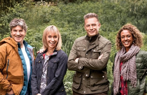 When does Autumnwatch start on BBC Two, who's presenting with Chris Packam and where is Sherborne Park?