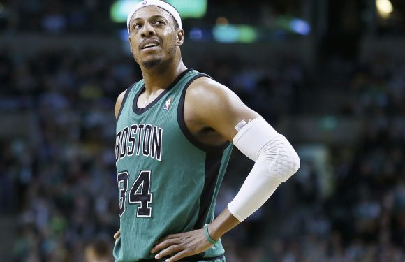 Paul Pierce scuffled with security ahead of McGregor-Khabib madness