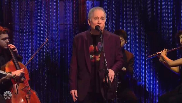 Paul Simon Delivers Powerful Performance Of 'Can't Run But' With Small Orchestra On 'SNL'