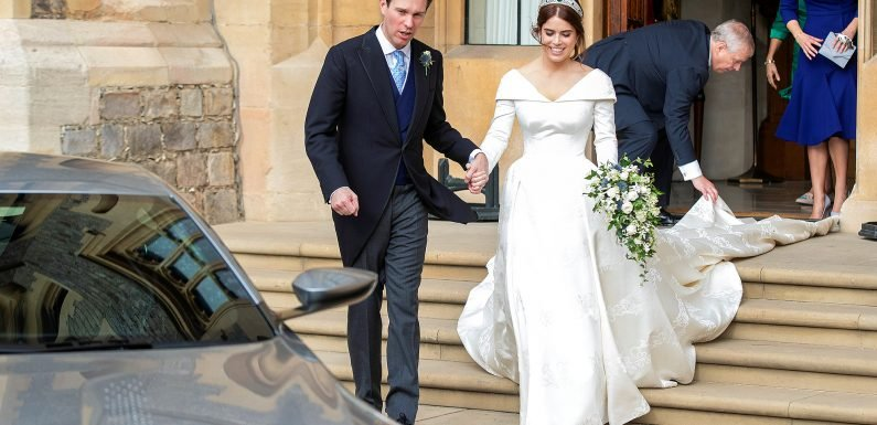 Pizza, Margaritas and a Serenade! The Details of Princess Eugenie's Royal Wedding Reception