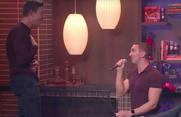 Andy Cohen Helps a Bravo Fan Propose to His Boyfriend on Watch What Happens Live