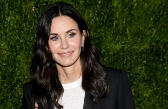 Courteney Cox Wants a 'Friends' Revival, Too