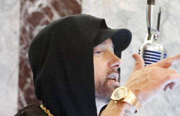 Watch Eminem Rap ''Venom'' From the Top of the Empire State Building
