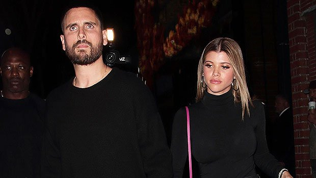 Sofia Richie & Scott Disick 'Smitten' With Each Other On Date Night: They're 'Really Happy Together'