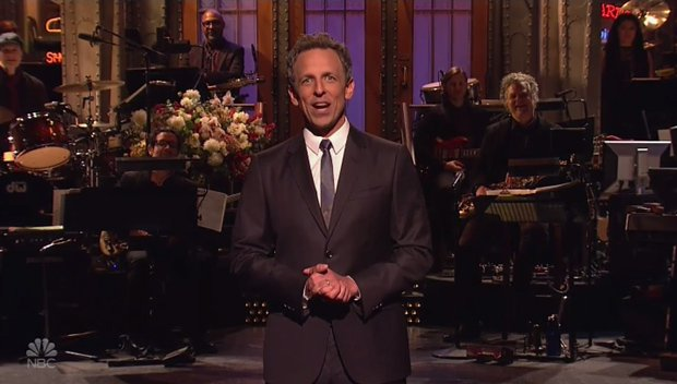 Seth Meyers Reveals Kanye West Interrupted Awards Shows On 'SNL' Before 2009 VMAs