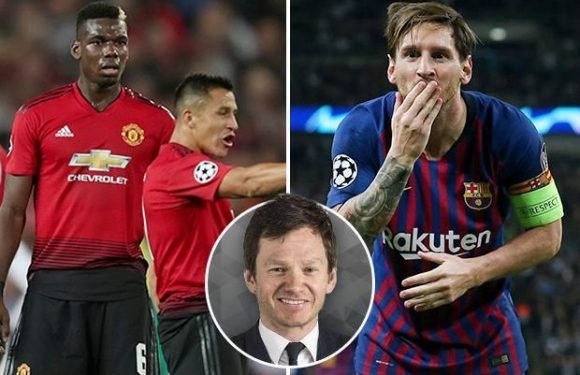 Manchester United and Barcelona are both two giant clubs… but when was the last time the Red Devils entertained their fans?