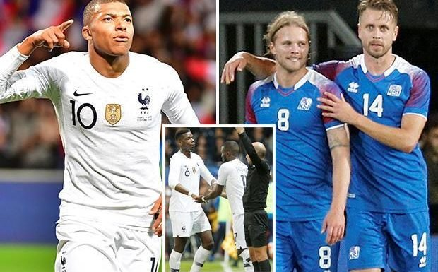 France 2 Iceland 2: Kylian Mbappe nets late penalty to spare World champions' blushes