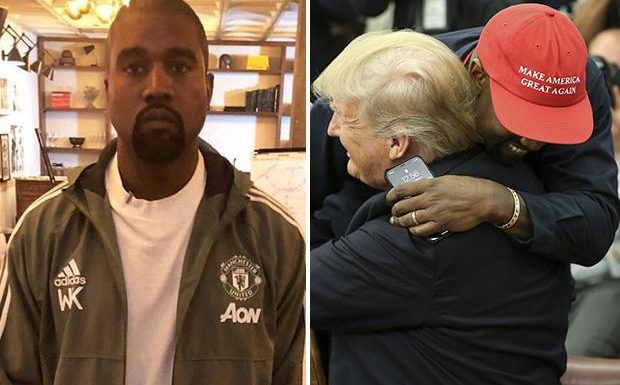 Kanye West wears Manchester United jacket and furious fans vow to ditch club in response
