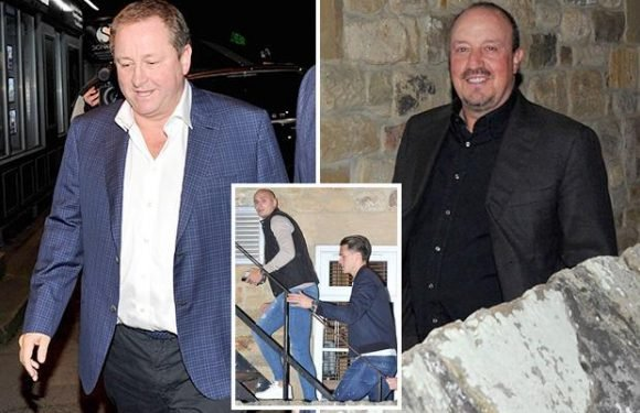 Newcastle owner Mike Ashley treats Rafa Benitez and squad to dinner to boost morale after disastrous start to season
