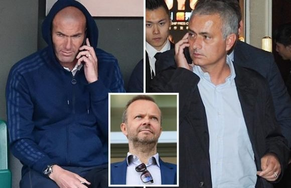 Jose Mourinho fears for Manchester United future after getting phone call from Zinedine Zidane