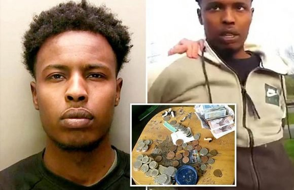 Dealer used girl, 14, and two missing 15-year-old boys as SLAVES to sell crack and heroin in 'county lines' drug ring