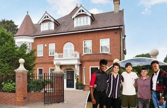 X Factor contestants' swanky £7m house 'fitted with a panic room to keep them safe'
