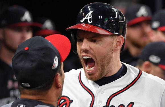 Braves power on display at home, but don't be fooled — this series is over
