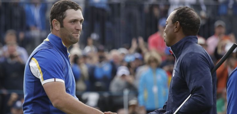 Ryder Cup: Rahm describes tearful reaction to beating Tiger Woods