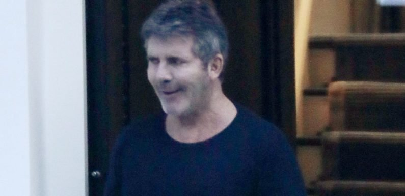 Simon Cowell beams with delight as new £200k present is delivered to his home