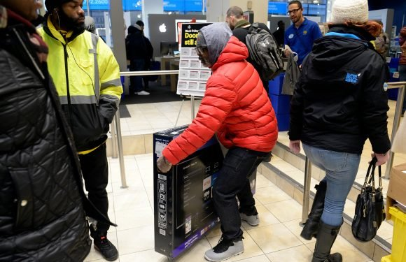 Black Friday in NYC was relatively calm and civilized