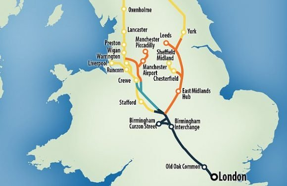 HS2 rail link between Birmingham and Leeds may never be built