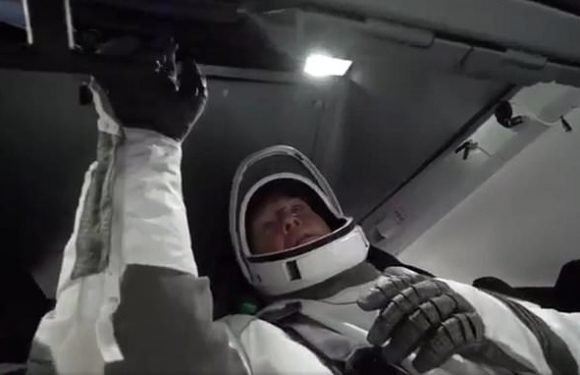 NASA reveals video of its crew training in Elon Musk's SpaceX capsule
