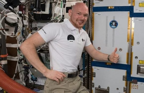 Life support system recycles breathable air is installed on the ISS