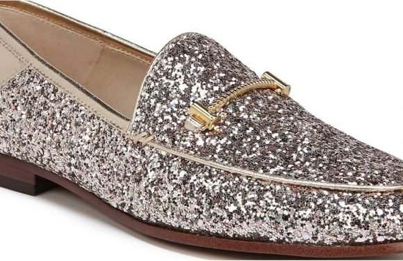 Oh My Gold! Nordstrom Released New Glitter Loafers You NEED For the Holidays