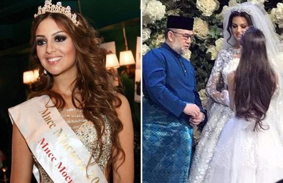 Ex-Miss Moscow is new 'queen of Malaysia' after converting to Islam and marrying country's king