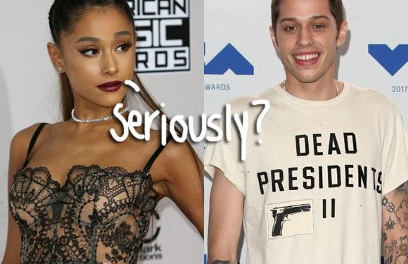 Pete Davidson Still Poking Fun At His Relationship With Ariana Grande & There Could Be An 'SNL&#821