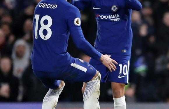 Chelsea ace Olivier Giroud was so impressed with Eden Hazard he could only utter 'f***' the first time he played with the Belgian magician